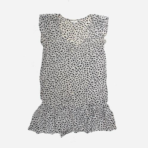 Joie Spot Printed Mini Dress XS