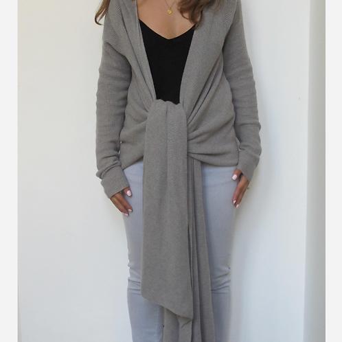 Comptoir Des Cotonniers Knit Wrap Cardigan S