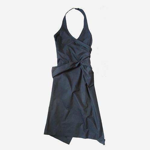 Gucci Black Poplin Dress XS/S