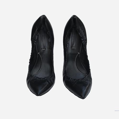 BCBG Maxmara Black Pointed Heels UK 6