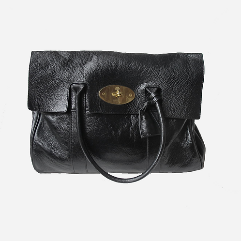 Mulberry Bayswater Tote Black Leather Bag
