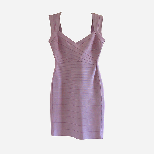 Hervé Léger Lilac Bandage Dress S