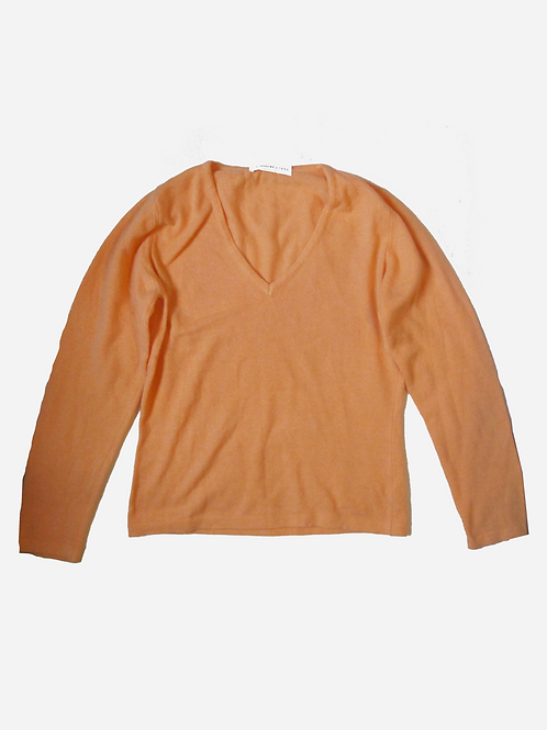 Cashmere E Seta Orange Cashmere Jumper S