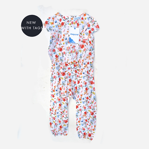 Toddler Girls Mayoral Jumpsuit 3T
