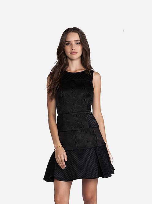 Tibi Quilted Dress XS