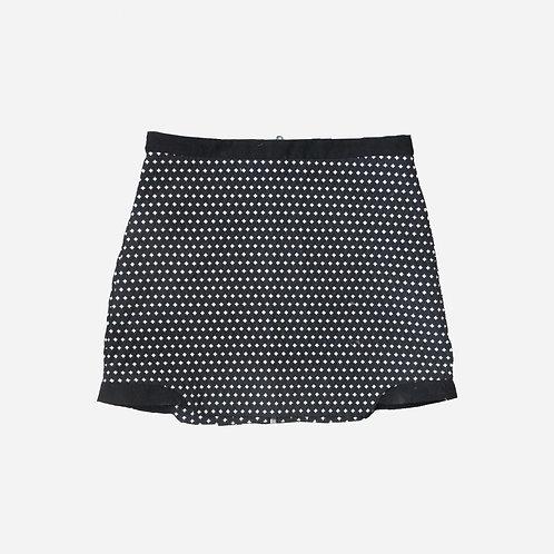 Topshop Geometric Mini Skirt S