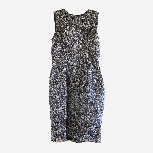 Dolce & Gabanna Sequin Print Dress S
