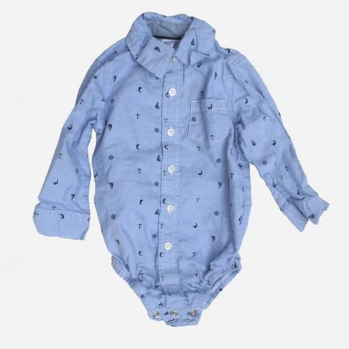 Toddler Boys Carter's Blue Sailor Shirt 12M
