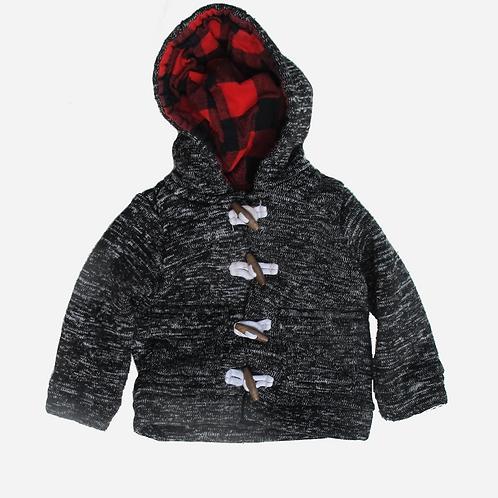 Toddler Boy's Carter's Grey Duffle Coat 18M