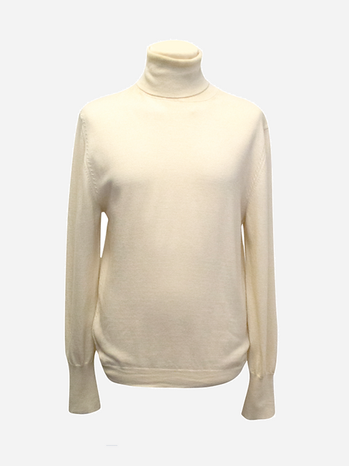 Yves Saint Laurent Wool Polo-neck S