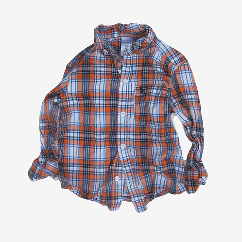 Toddler Boys Carter's Check Shirt 2T