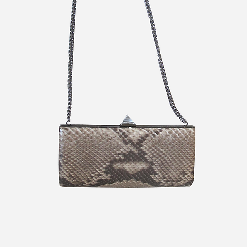 Christian Louboutin Snakeskin Clutch Bag
