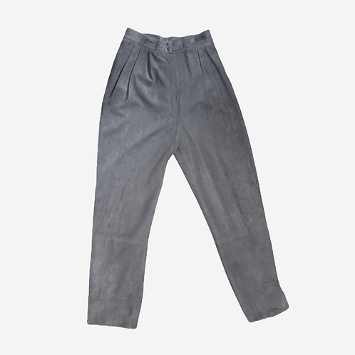 Jaeger Suede Grey Trousers S