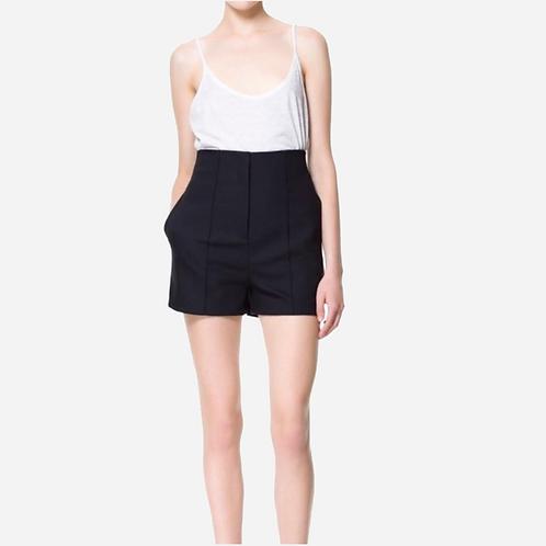 Zara Black Shorts S