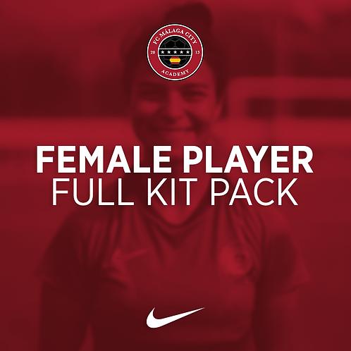 FC Malaga City Female Full Kit Pack