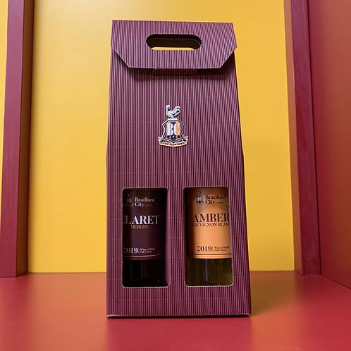 Claret & Amber Wine Set