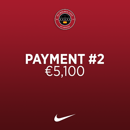 Payment #2: €5,100