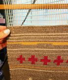 Navajo Weaving is life.