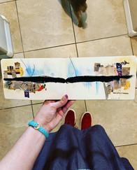 Jordanna's art journal snippet