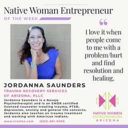Native Woman Entrepreneur