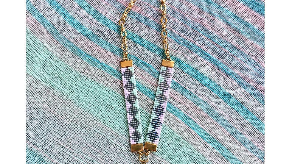Soleil St Tropez Rose Quartz Necklace