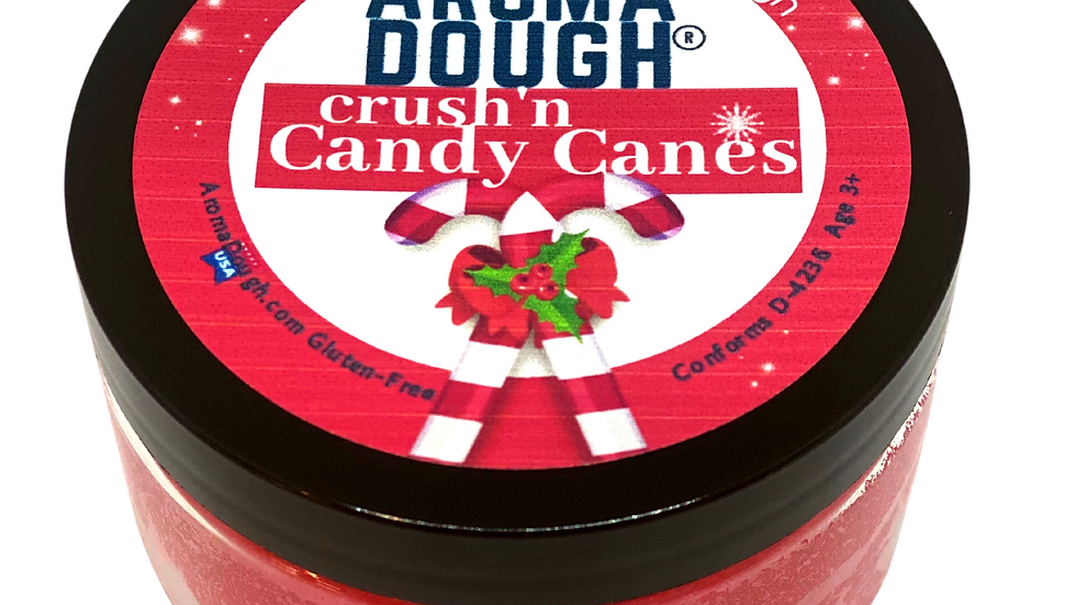 Aroma Dough Candy Cane Therapy Stress Relief Dough Gluten-Free