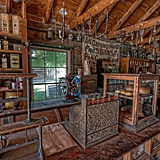 counter-of-old-west-general-store-montan