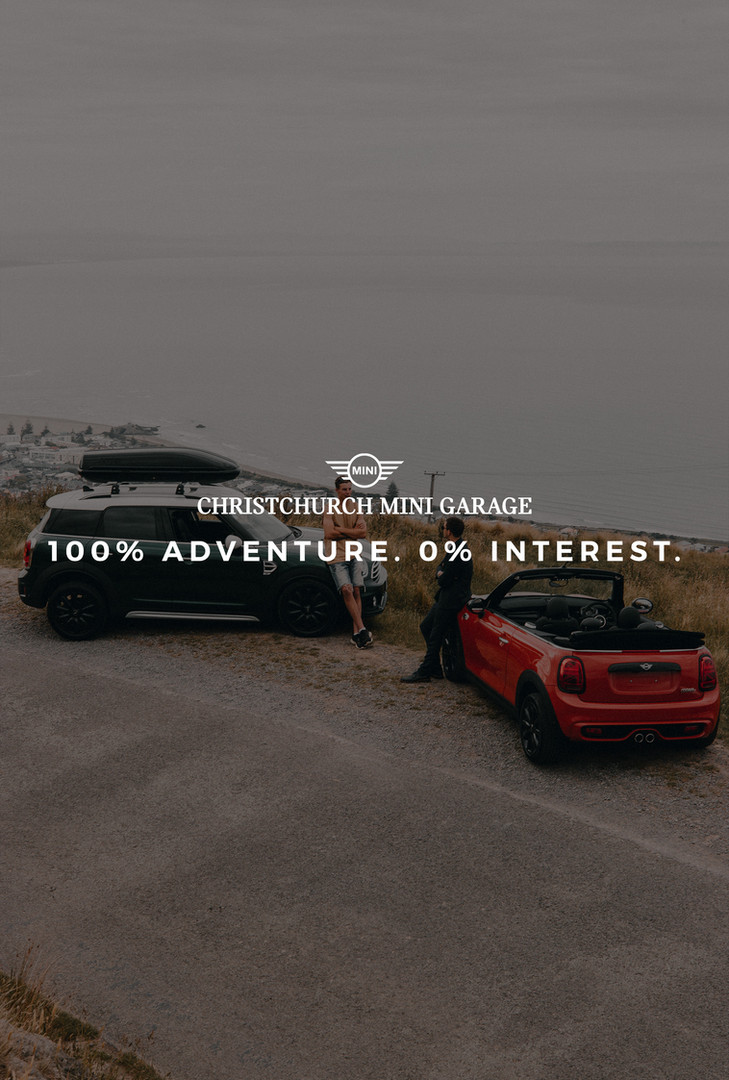 100% Adventure. 0% Interest