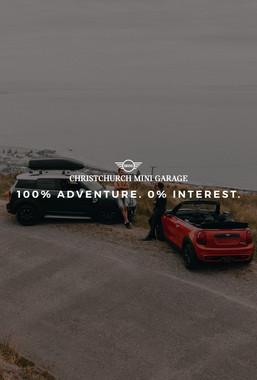 100% Adventure. 0% Interest