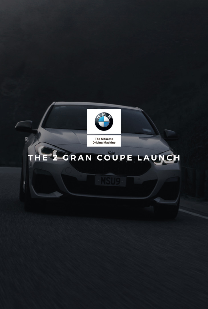 BMW THE 2 Gran Coupé Launch