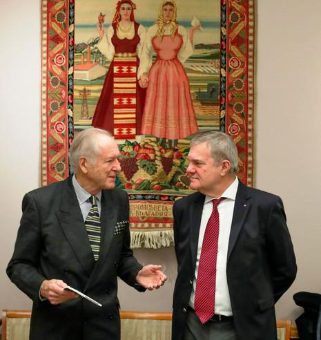 Н. Лобанов и Румен Петков