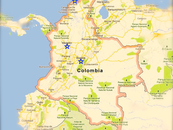 Colombia, here I come!