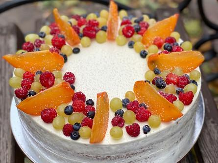 Торт с открытым бортом