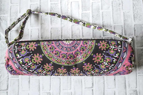 Flowers and Elephant Yoga Bag