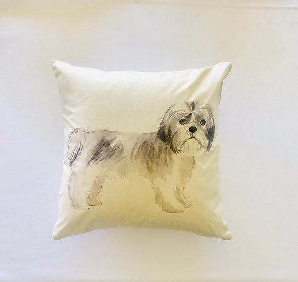 Shi Zu Dog Pillow Cover