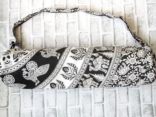 Black and White Animal Yoga Bag