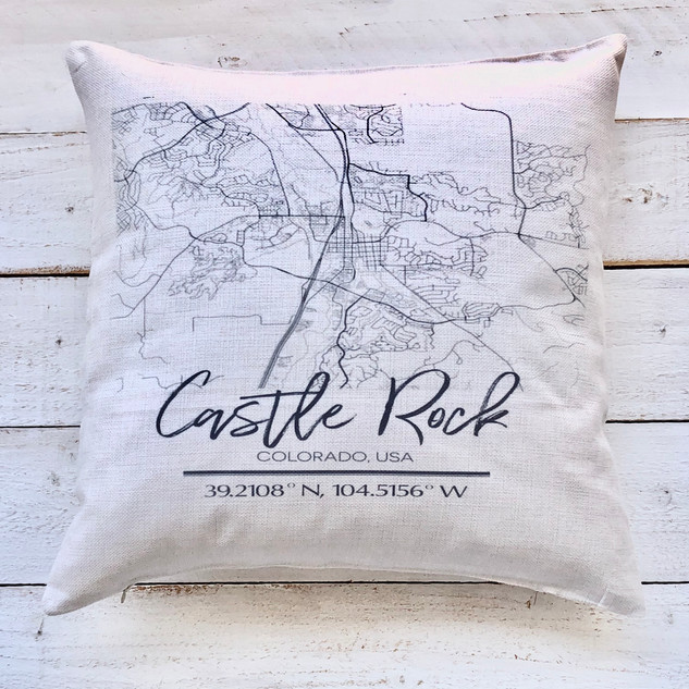 Castle Rock Map