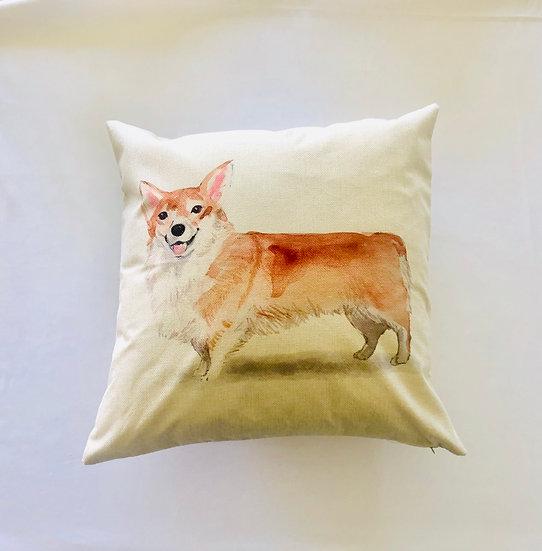Corgi Pillow Cover