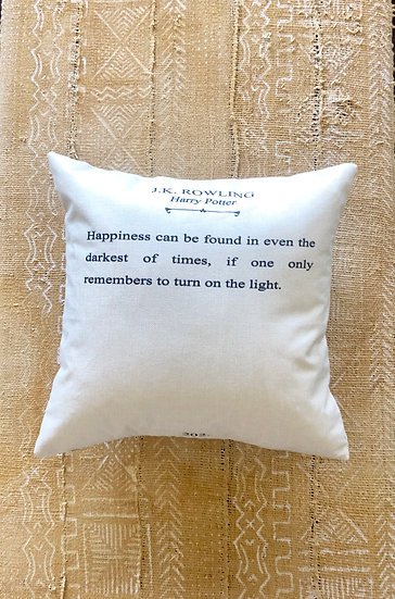 JK Rowling Pillow Cover