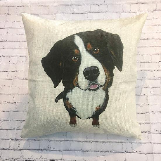 St Bernard Pillow Cover
