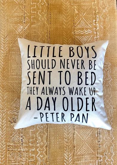 Peter Pan Pillow Cover