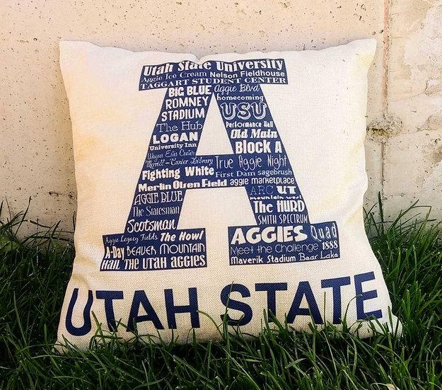 Utah State Pillow Cover