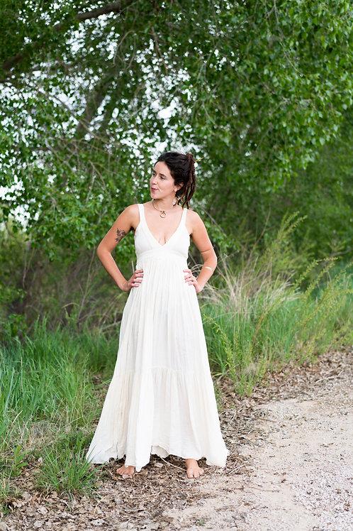 Simple Boho Cotton Dress