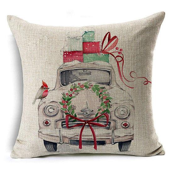Vintage Car Christmas
