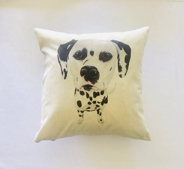 Dalmation Dog Pillow Cover