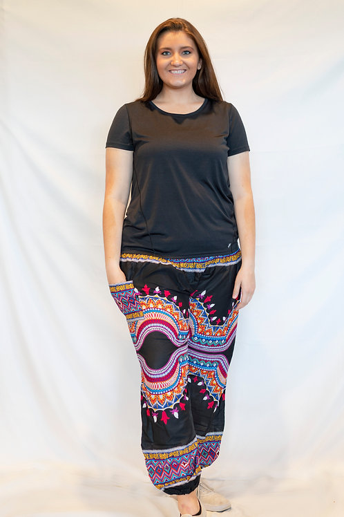 Plus Size Fiesta Pants