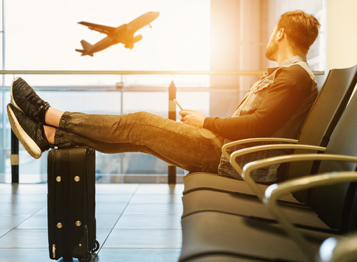 Arrive Refreshed: Tips for overcoming jet lag.