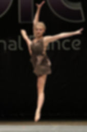 dance soloist, Bravo dance competition