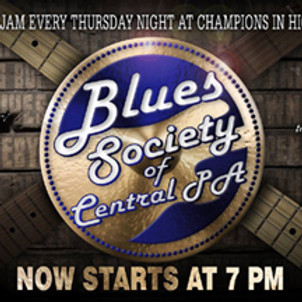 BSCP Blues Jam - Live In Person @ Champs