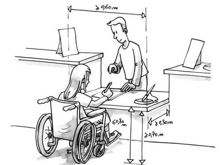 Plus de 200 visiteurs par an = formation à l'accueil des personnes handicapées